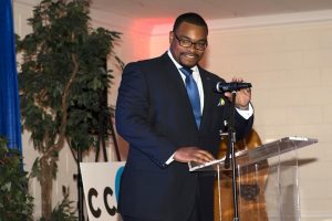 Speaking at the CCDC Dinner in 2017
